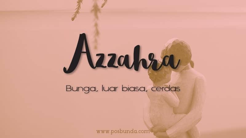 Arti Nama Azzahra - Azzahra