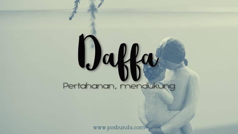 Arti Nama Daffa - Daffa