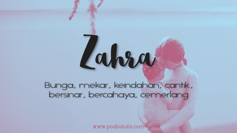Arti Nama Zahra - Zahra
