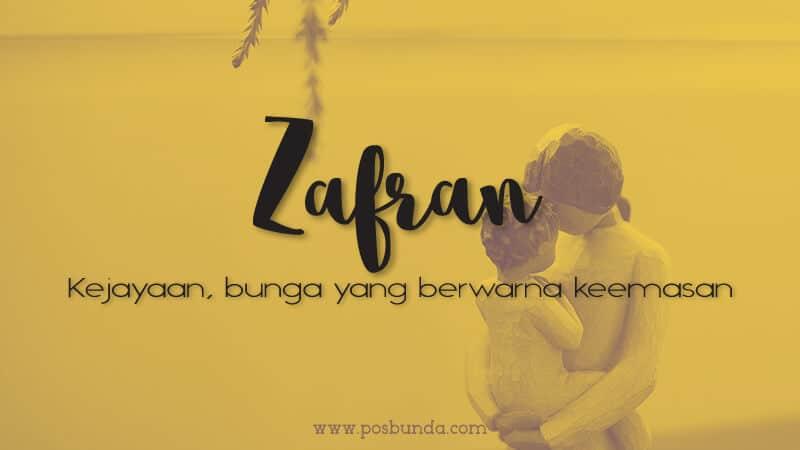Arti Nama Zafran - Zafran