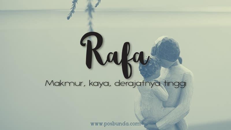Arti Nama Rafa - Rafa