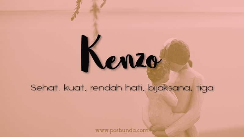Arti Nama Kenzo - Kenzo
