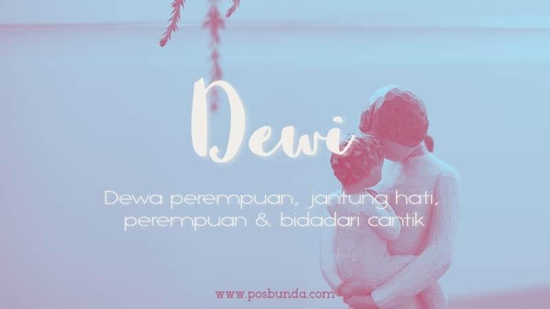 Arti Nama Dewi - Dewi