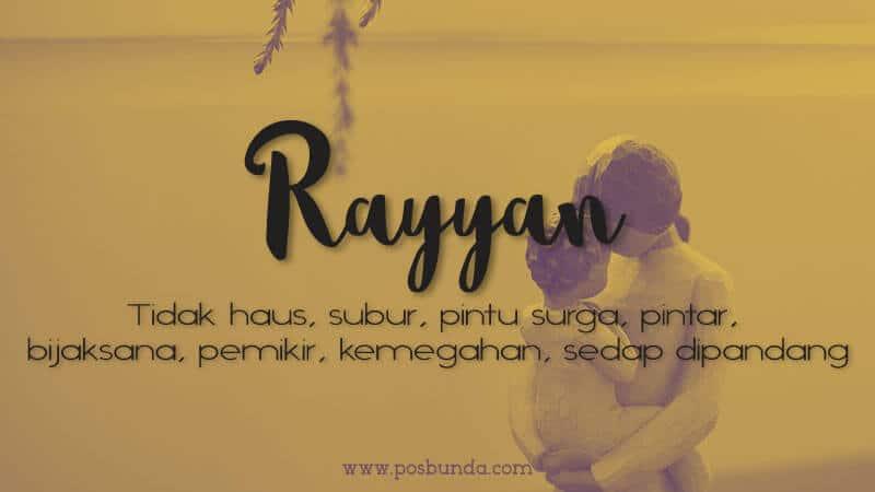 Arti Nama Rayyan - Rayyan