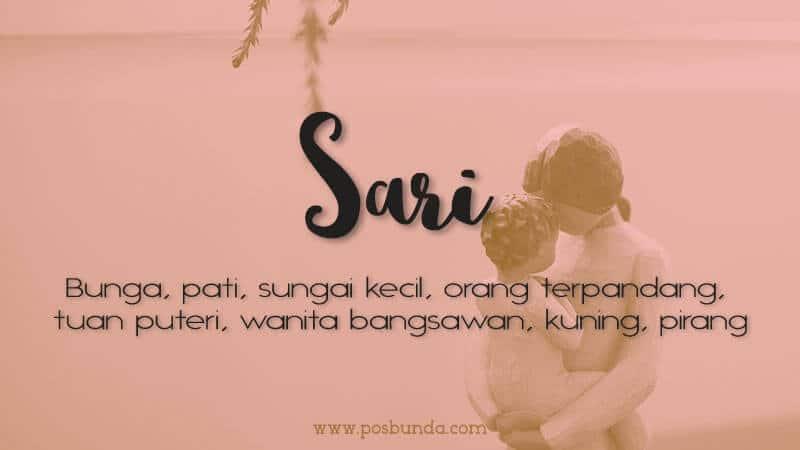 Arti Nama Sari - Sari