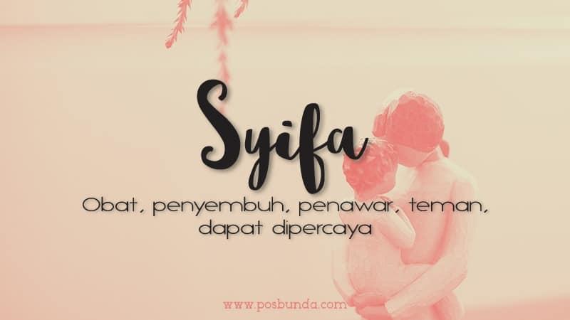 Arti Nama Syifa - Syifa