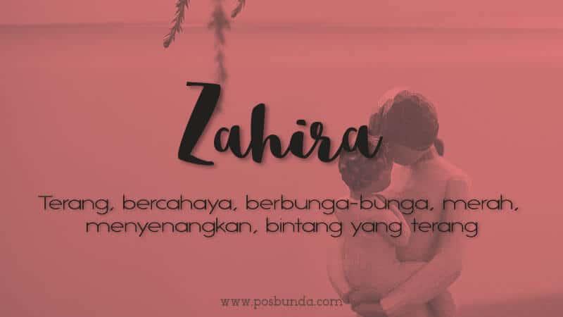 Arti Nama Zahira - Zahira