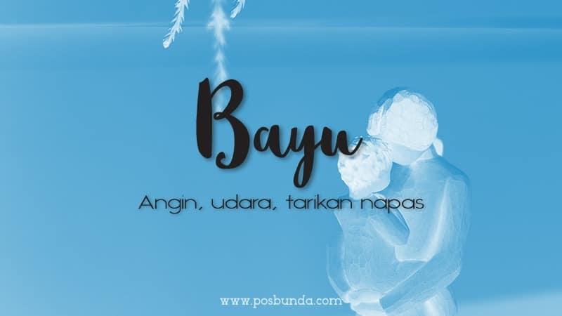 Arti Nama Bayu - Bayu
