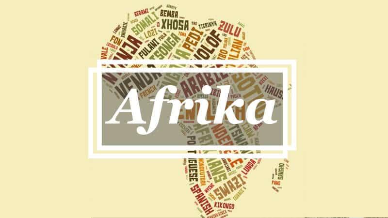Asal Bahasa - Afrika