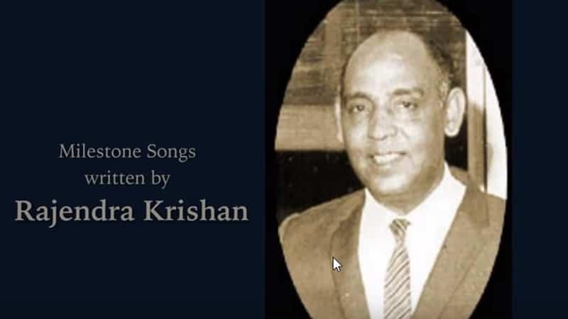 Arti Nama Rajendra - Rajendra Krishan