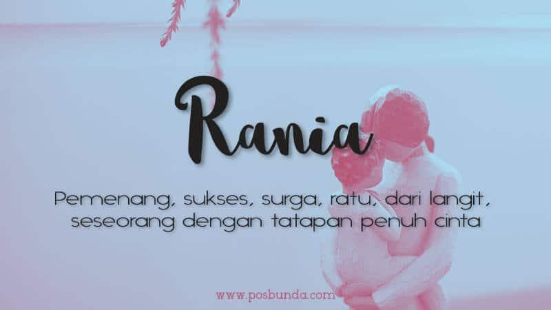 Arti Nama Rania - Rania