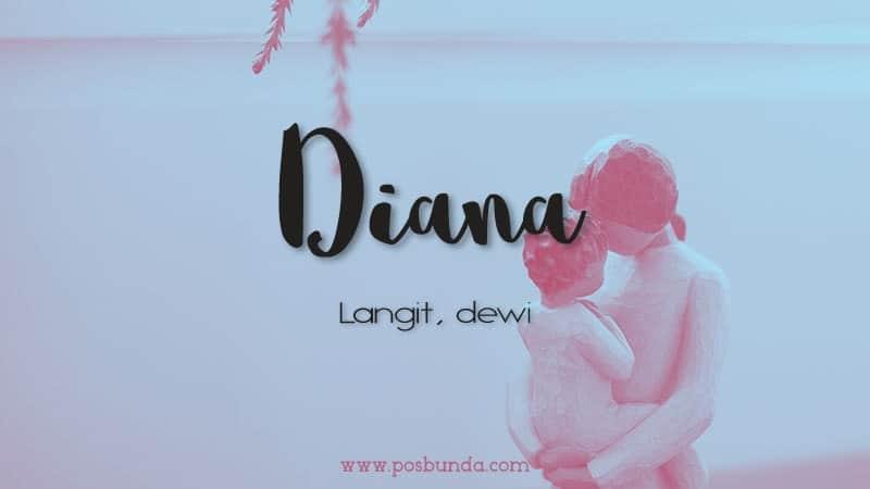 Arti Nama Diana - Diana