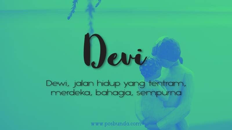 Arti Nama Devi - Devi