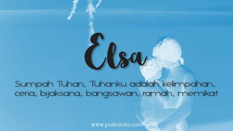 Arti Nama Elsa - Elsa