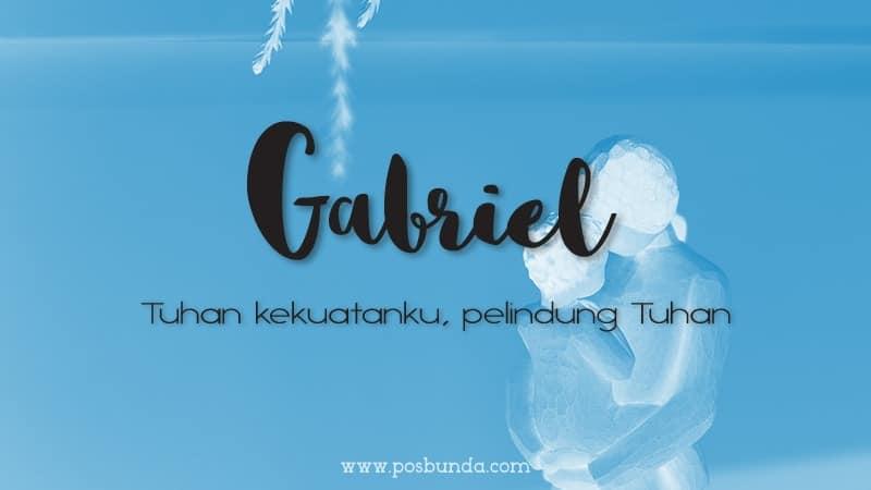 Arti Nama Gabriel - Gabriel