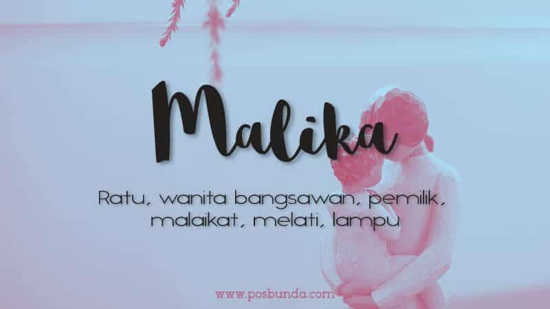 Arti Nama Malika - Malika