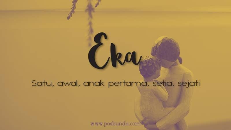 Arti Nama Eka - Eka