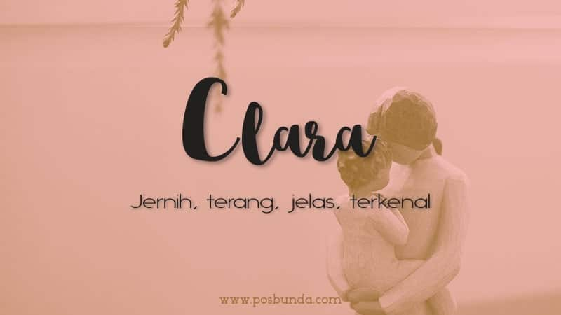 Arti Nama Clara - Clara