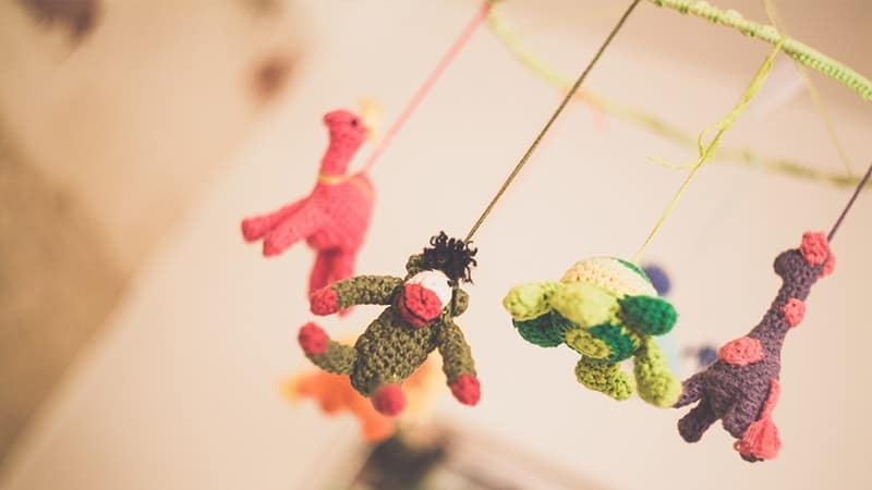 Macam Macam Mainan Bayi - Mainan Gantung