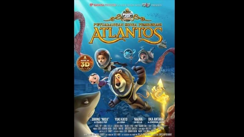 Film Animasi Anak Anak - Petualangan Singa Pemberani Atlantos 2