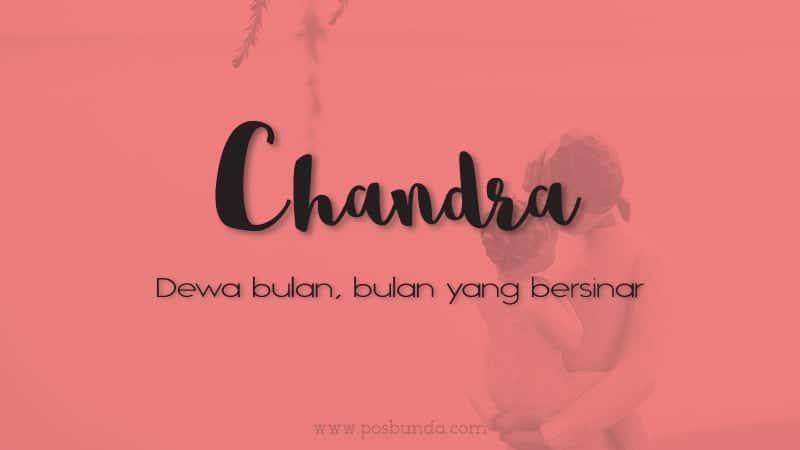 Arti Nama Chandra - Chandra