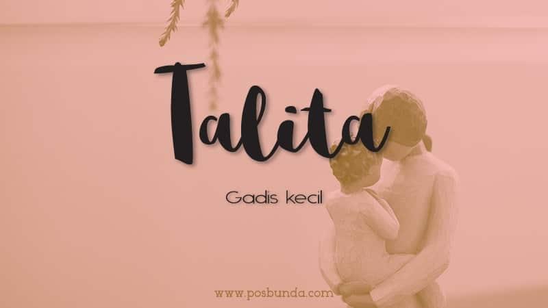 Arti Nama Talita - Talita