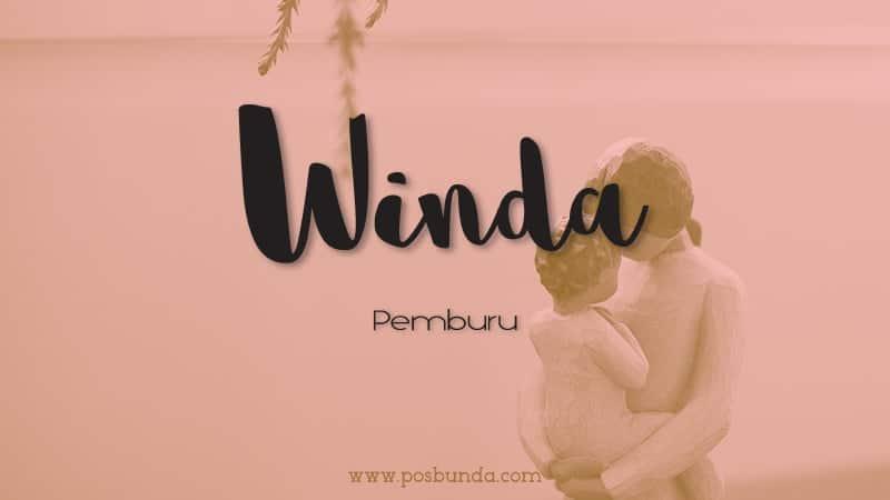Arti Nama Winda - Winda