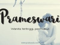Arti Nama Prameswari - Prameswari