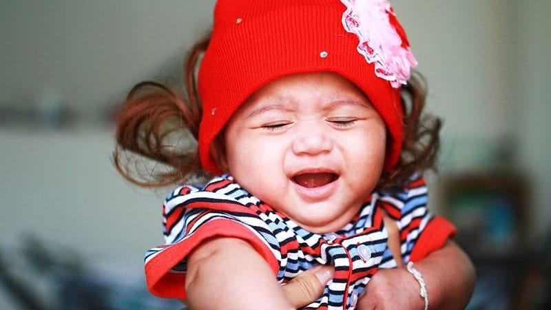 Tantrum - Bayi Perempuan Menangis