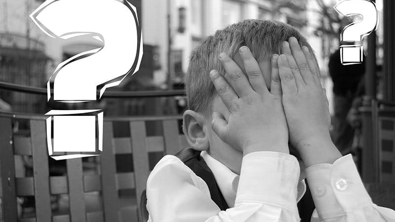 Permasalahan Anak Usia Dini - Anak Laki-Laki dan Tanda Tanya