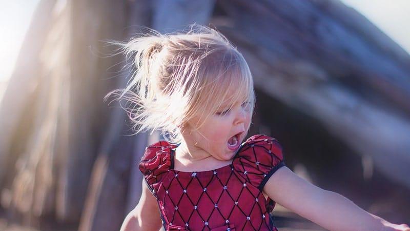 Cara Mengatasi Anak Nakal - Anak Perempuan Teriak