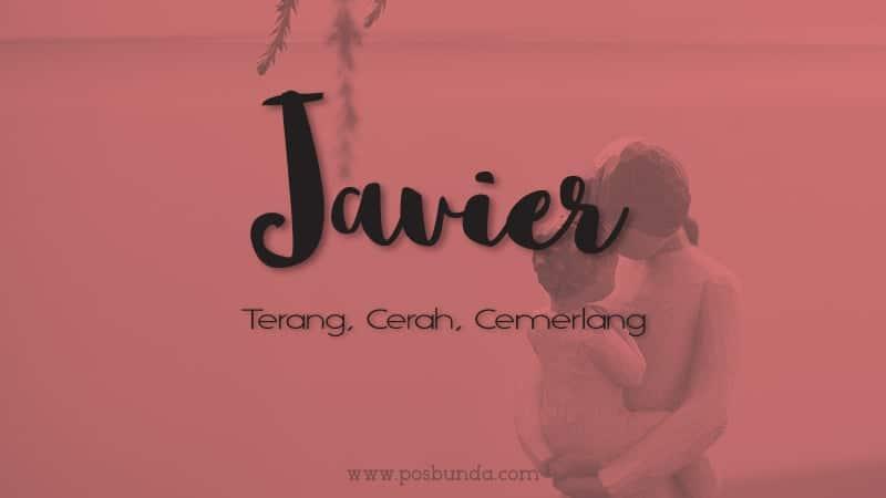 Arti Nama Javier - Javier