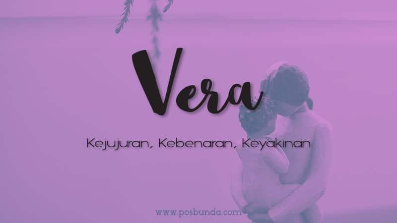 Arti Nama Vera - Vera
