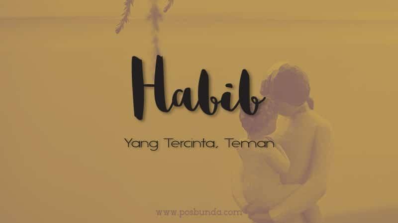 Arti Nama Habib - Habib