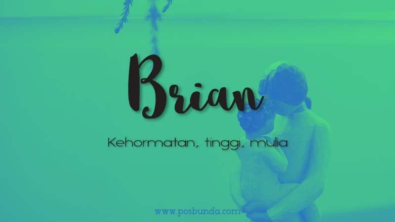 Arti Nama Brian - Brian