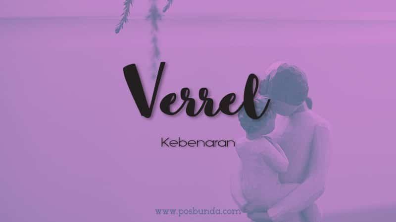 Arti Nama Verrel - Verrel