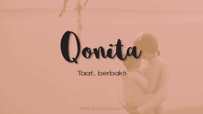 Arti nama Qonita - Qonita