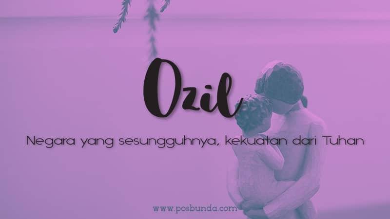Arti Nama Ozil