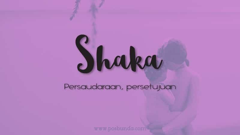 Arti Nama Shaka - Shaka