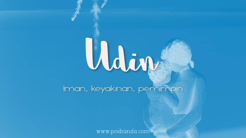 Arti Nama Udin - Udin