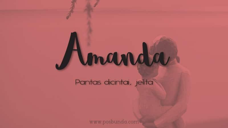 Arti Nama Amanda - Amanda