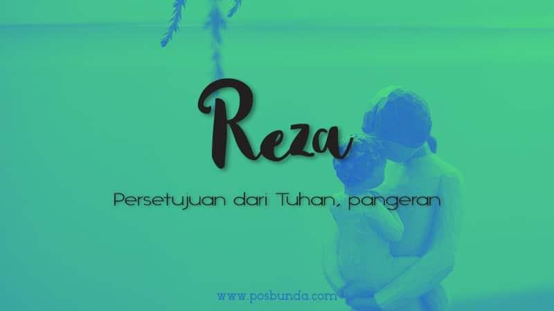 Arti Nama Reza - Reza