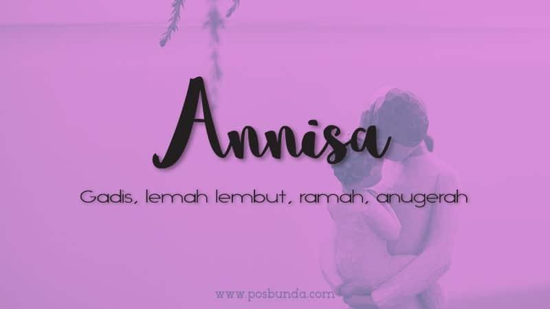Arti Nama Annisa - Annisa