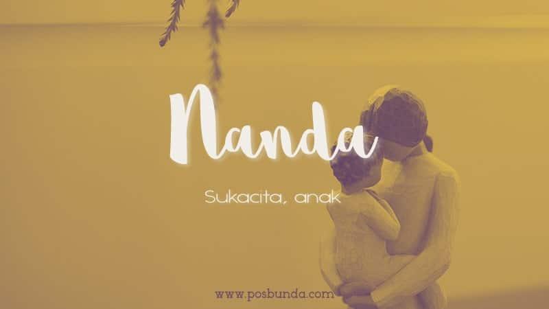 Arti Nama Nanda - Nanda