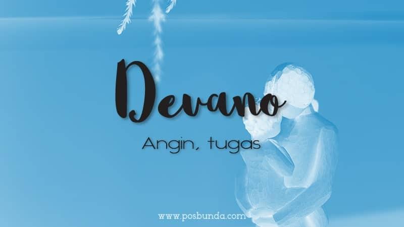 Arti Nama Devano - Devano