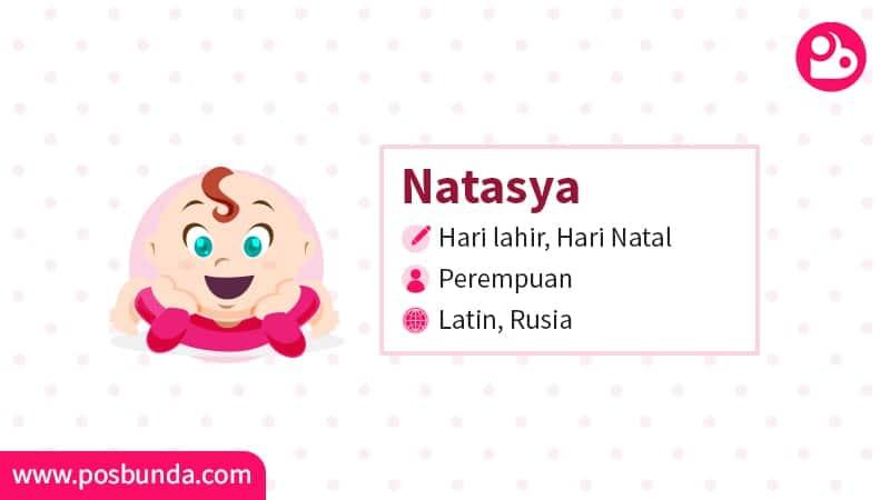 Arti Nama Natasya - Natasya