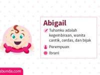 Arti Nama Abigail - Abigail