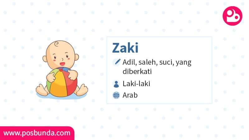 Arti Nama Zaki - Zaki