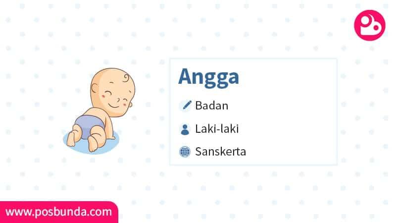 Arti Nama Angga - Angga
