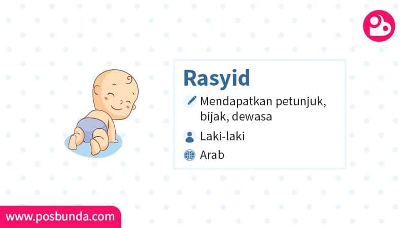 Arti Nama Rasyid - Rasyid